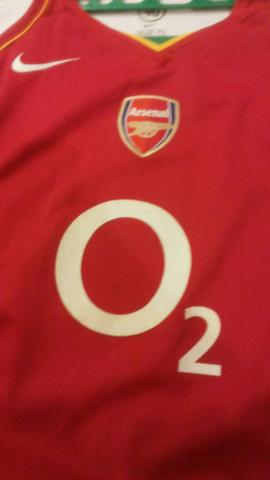 Jersey Arsenal Home 2003/2004 ORIGINAL (GAADA KW2an)