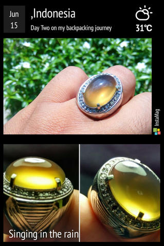 Lelang #4 Yellow Amber +10rb aja, simple with full luster