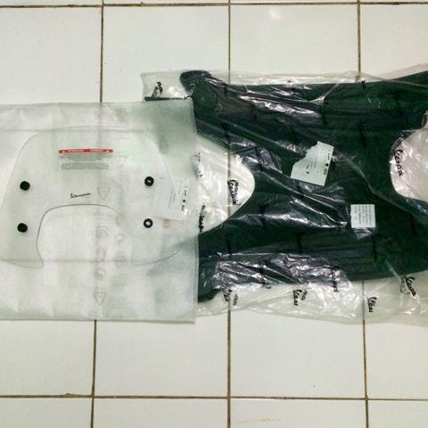 WTS Flyscreen Clear and Floormate Vespa Sprint