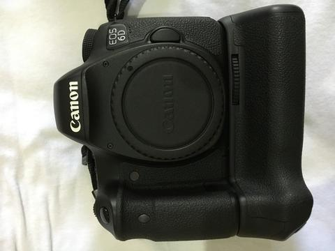 Jual canon 6D built in wifi&gps ex ds