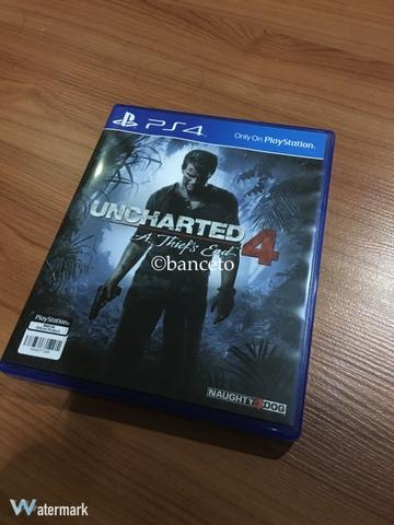 BD PS4 Uncharted 4 second mulus...