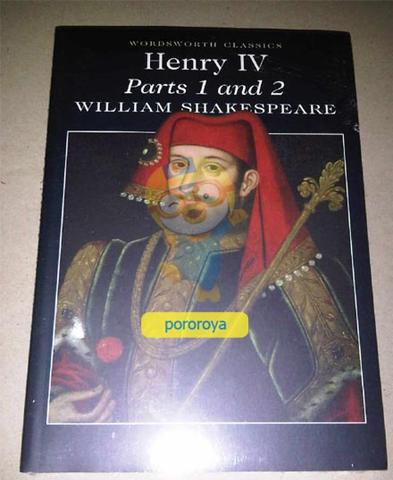 Novel William Shakespeare - HENRY IV (Eng)