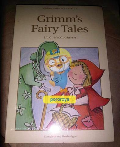 Novel GRIMM'S FAIRY TALES (English)