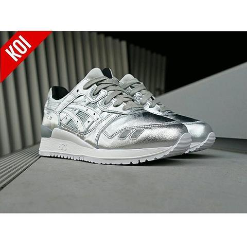 Asics Gel Lyte III Champagne Pack Silver (PREMIUM)