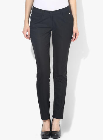 BLACK LADIES CHINO PANT - ORIGINAL CHINO FROM PREMIUM SHOP