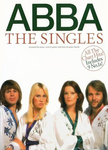 Buku Piano, Vocal, Gitar - ABBA The Singles
