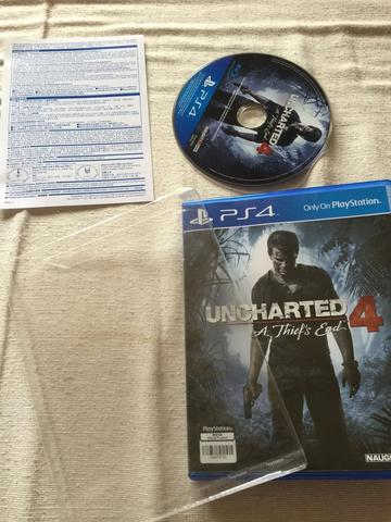 CD PS 4 UNCHARTED 4 A THIEFS END