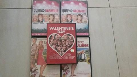 DVD Taylor Swift, Letter to Juliet, Valentine's Day, Queen of Nashville