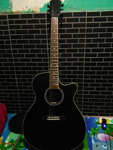 Gitar Akustik Custom (Mint Condition) Bandung [REPOST]