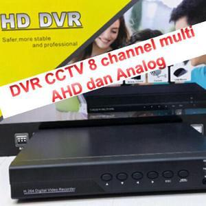 [IMAGINATION MUSIC STORE] DVR CCTV 8 Channel Multi AHD & Analog