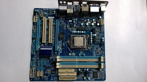 Intel® Core™ i5-650 (4M Cache, 3.20 GHz) + Gigabyte GA-H57M-USB3, All Solid