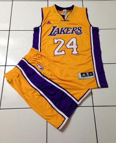Jersey Setelan Basket LA Lakers