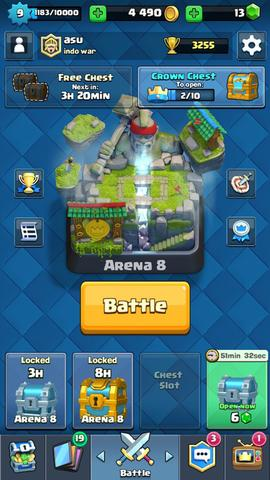 jual id clash royale