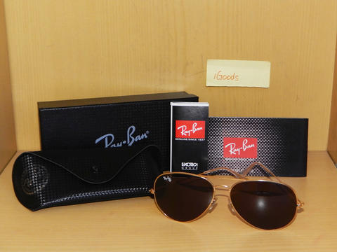 Kacamata / Sunglasses Rayban Aviator - Brown - PREMIUM QUALITY