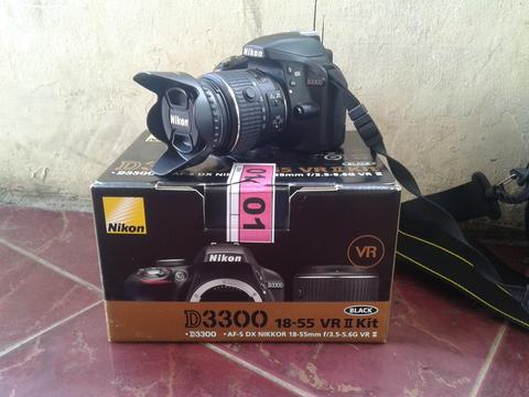 Kamera DSLR NIKON D3300 (LIKE A NEW)