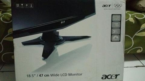 lcd monitor acer 18,5