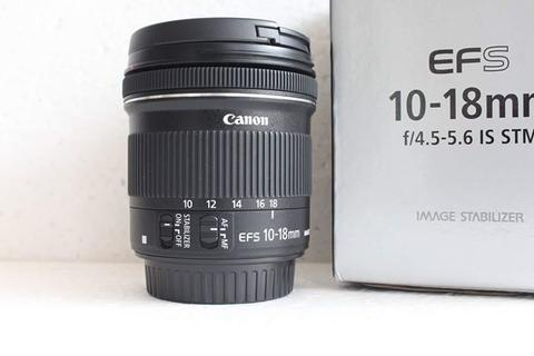 Lensa Canon EFS 10-18 IS STM