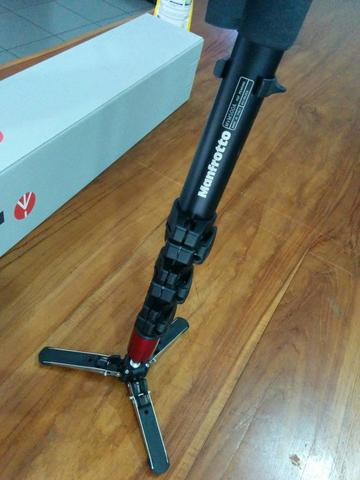 Manfrotto Monopod for Video MVM500A with Fluid Head