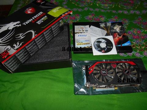 MSI GeForce GTX 760 2 GB TWIN FROZR Gaming (Bonus Debu)