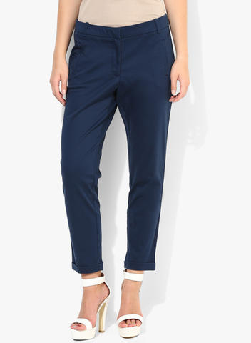 NAVY BLUE LADIES CHINO PANT - ORIGINAL CHINO FROM PREMIUM SHOP