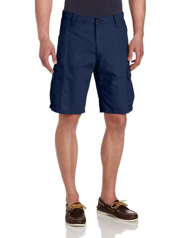 NAVY BLUE SHORT CARGO PANT - ORIGINAL CHINO FROM PREMIUM SHOP