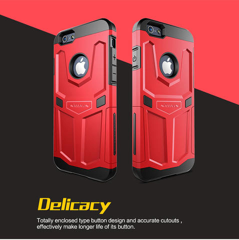 Nillkin Case defender iPhone 6 plus free Tempered glass