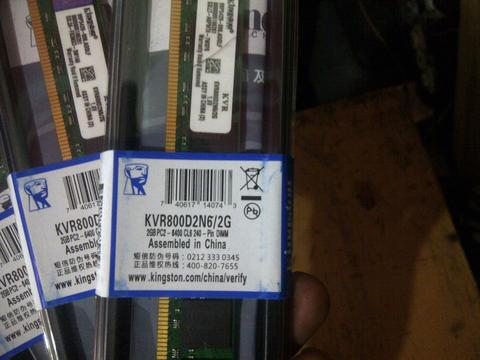 RAM PC DDR2 2GB PC 6400 Kingstone