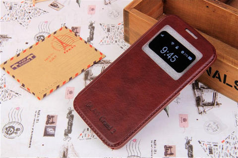 Samsung Galaxy Grand 2 KLX Leather Flip Case Flipcase Cover Flipcover