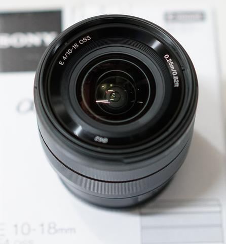 SONY SEL 10-18mm F4 OSS