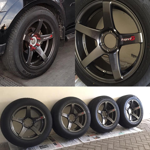 [ SURABAYA ] WTS Velg Lenso Project D R20 PCD 6x139.7 + Ban utk FORTUNER PAJERO dll