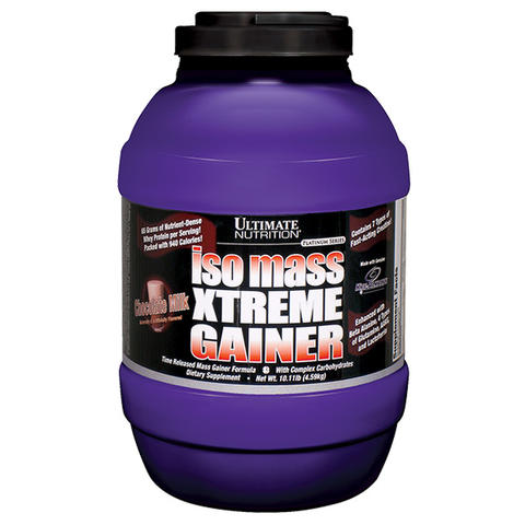 Ultimate Nutrition-Iso Mass Xtreme Gainer 10lbs/ suplemen fitness