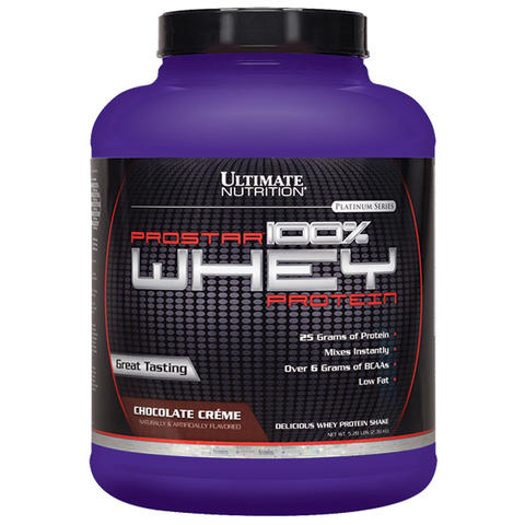 Ultimate Nutrition Prostar 100% Whey Protein 5.28lbs / suplemen fitness