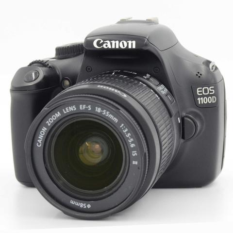 USED : CANON 1100D KIT 18-55mm IS II BOX
