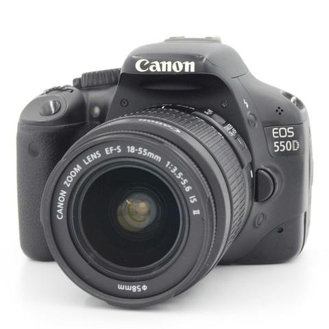 USED : CANON 550D KIT EFS 18-55 IS II BOX
