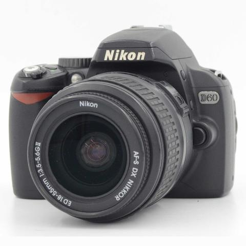 USED : NIKON D60 KIT 18-55MM ED BOX