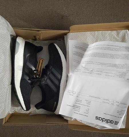 WTS: Ultra boost 2.0 Core Black BNIB 100% Authentic with receipt