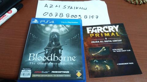 WTS Bloodborne The Old Hunter Edition + DLC Farcry Primal