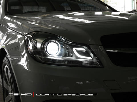 Headlamp DS Version (Mercy C-Class W204)