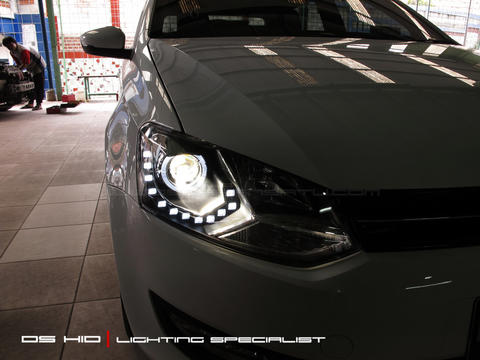 Headlamp DS Version (VW Polo)