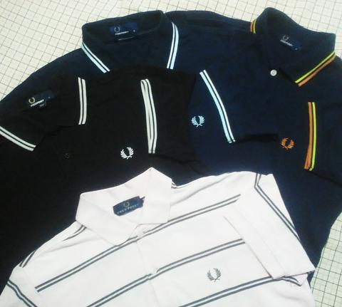 Terjual Fredperry fred perry polo shirt twin tipped  6371d97fba