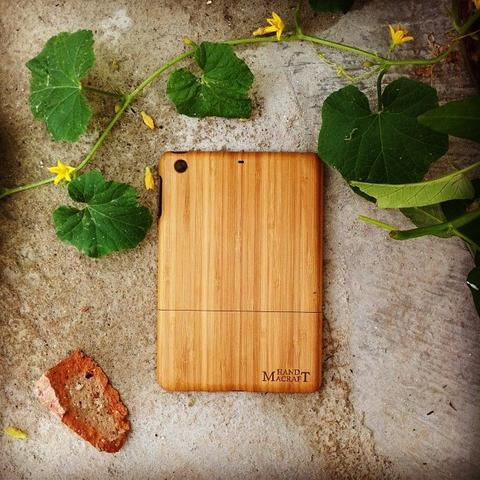 100% bamboo, Bamboo case iPad Mini