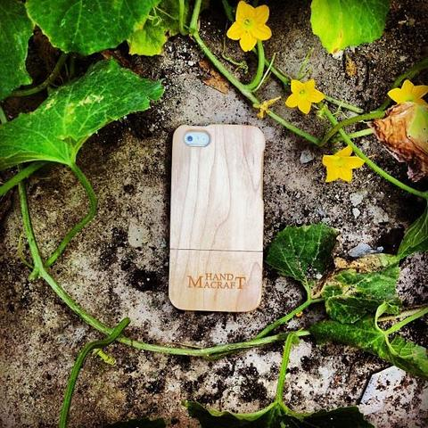 100% wood Maple Wood Case for iPhone 5/5s/se