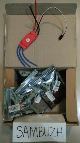 4 x 30A SimonK Firmware Brushless ESC with 3A 5V BEC for RC Quadcopter