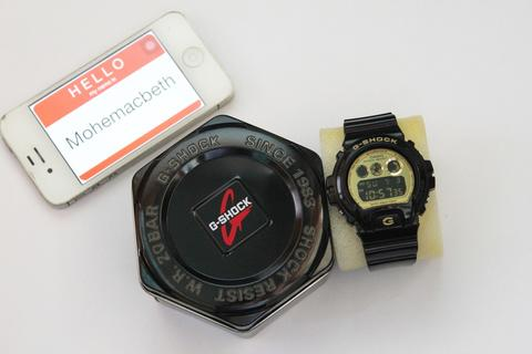 CASIO G-SHOCK/ GSHOCK BLACK GOLD DW 6900 CB 99% MULUZ