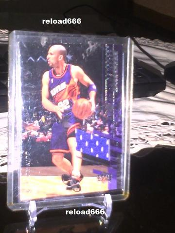 Kartu Basket 2000-01 Upper Deck Jason Kidd Game Jersey Card #Jk-C