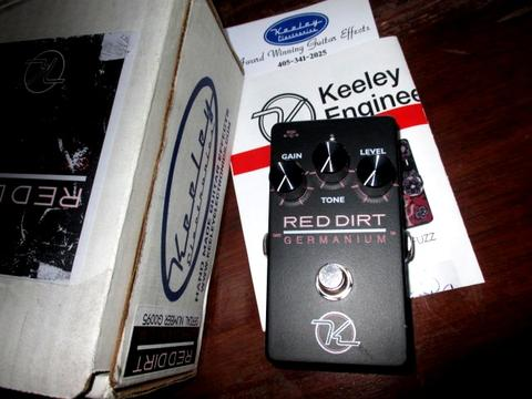 *GuitarShop* EFEK GITAR KEELEY RED DIRT GERMANIUM USA - Not Suhr Bogner Vox MXR