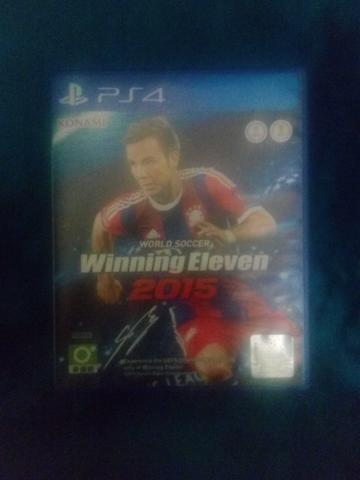 BD PS4 winning eleven / we 2015