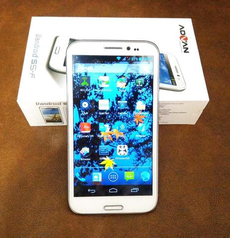 Advan Vandroid S5F White Second + BONUS