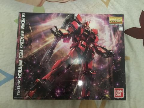 BNIB Gundam MG 1/100 Amazing Red Warrior PF-78-3A