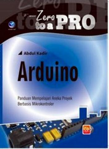 Buku From Zero to a Pro: Arduino+cd